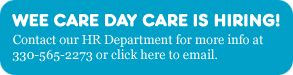 Wee Care Day Care is hiring!